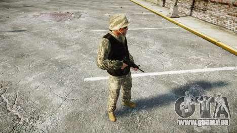 Medal of Honor LTD Camo1 für GTA 4 Sekunden Bildschirm
