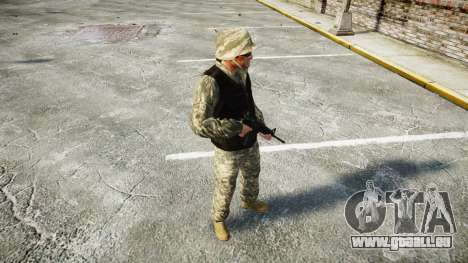 Medal of Honor LTD Camo1 pour GTA 4 secondes d'écran