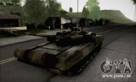 PT-91M Pendekar Tank pour GTA San Andreas laissé vue