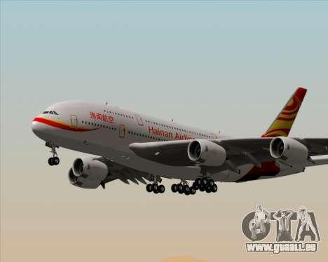 Airbus A380-800 Hainan Airlines für GTA San Andreas Räder