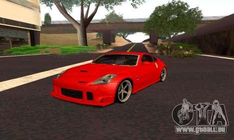 Nissan 350Z Tune für GTA San Andreas