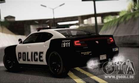 Bravado Buffalo S Police Edition (HQLM) pour GTA San Andreas laissé vue