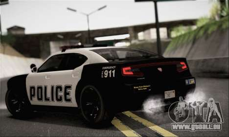 Bravado Buffalo S Police Edition (HQLM) für GTA San Andreas linke Ansicht