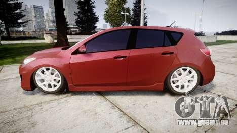 Mazda 3 MPS pour GTA 4 est une gauche