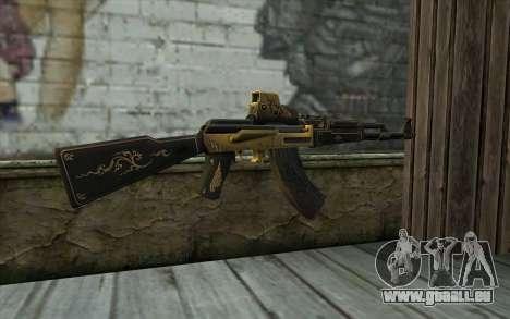 AK47 from PointBlank v2 pour GTA San Andreas deuxième écran