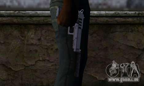 Silenced Pistol from GTA 5 pour GTA San Andreas troisième écran