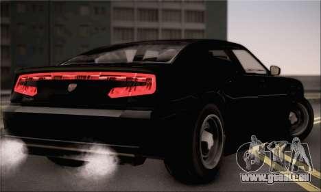 Bravado Buffalo S FIB pour GTA San Andreas laissé vue