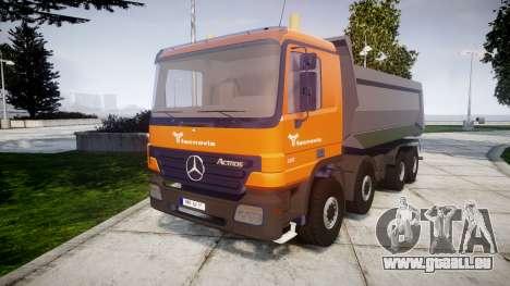 Mercedes-Benz Actros tecnovia pour GTA 4