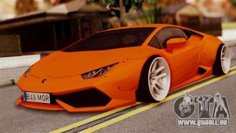 Lamborghini Huracan LB pour GTA San Andreas
