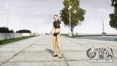 Fille du FBI pour GTA 4