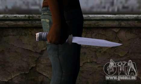 Lange Messer für GTA San Andreas dritten Screenshot