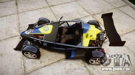 Ariel Atom V8 2010 [RIV] v1.1 Petrolos pour GTA 4 est un droit