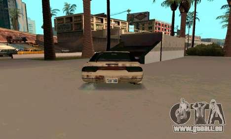 Nissan 240SX Rusted pour GTA San Andreas vue de droite