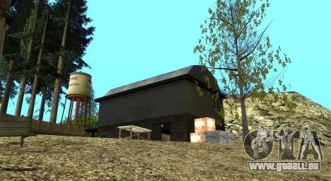L'Altruiste camp sur le mont Chiliade pour GTA San Andreas huitième écran