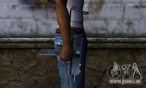 Micro Uzi v2 pour GTA San Andreas troisième écran