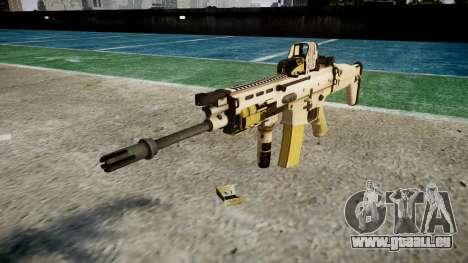 La Machine FN SCAR-L Mc 16 cible icon1 pour GTA 4