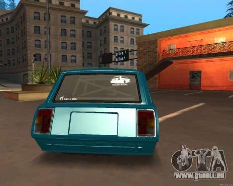 CES 2104 Falken pour GTA San Andreas laissé vue