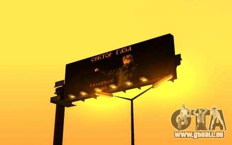 Le groupe Radio de Gaza pour GTA San Andreas