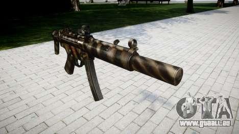 Gun MP5SD DRS CS für GTA 4