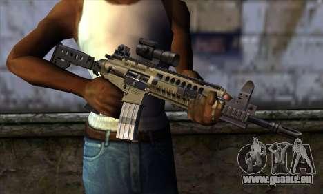 LR300 v1 pour GTA San Andreas troisième écran