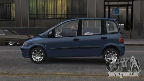 Fiat Multipla für GTA 4 linke Ansicht
