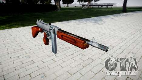 Pistolet mitrailleur Thompson M1A1 boîte de icon pour GTA 4