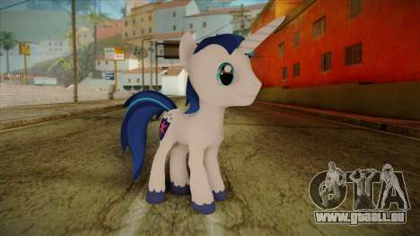 Shining Armor from My Little Pony pour GTA San Andreas