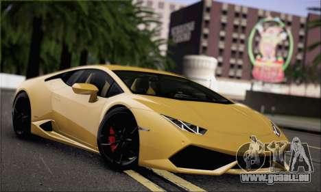 Lamborghini Huracan LP610-4 2015 für GTA San Andreas