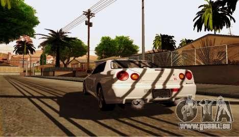 ENB pour ordinateurs faibles pour GTA San Andreas septième écran