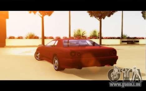 Elegy By Next für GTA San Andreas zurück linke Ansicht