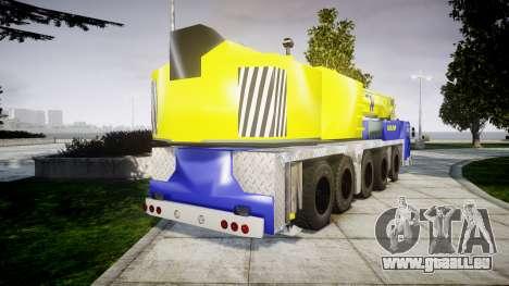 Die crane-Champion v2.0 für GTA 4 hinten links Ansicht