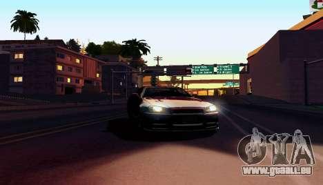 ENB pour ordinateurs faibles pour GTA San Andreas quatrième écran