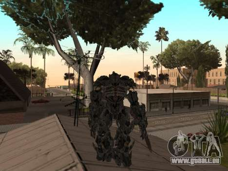 Transformers 3 Dark of the Moon Skin Pack pour GTA San Andreas huitième écran