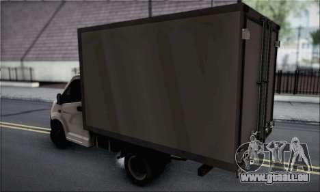 GAZelle Prochaine pour GTA San Andreas laissé vue