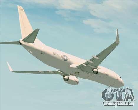 Boeing P-8 Poseidon US Navy für GTA San Andreas Innenansicht