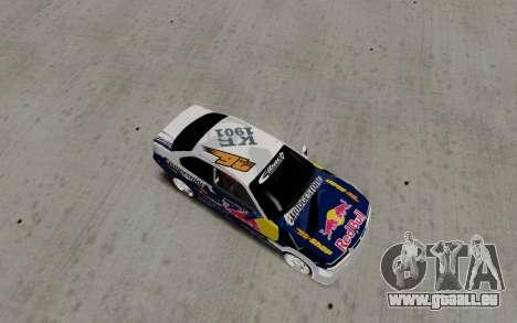 BMW E36 Red Bull pour GTA San Andreas sur la vue arrière gauche
