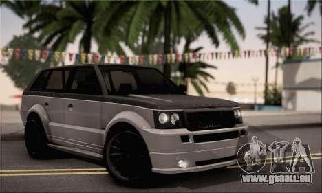 Vapid Huntley für GTA San Andreas