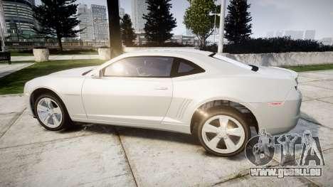 Chevrolet Camaro SS [ELS] Unmarked no side ligh pour GTA 4 est une gauche