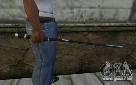Katana from Deadpool für GTA San Andreas dritten Screenshot