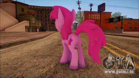 Berrypunch from My Little Pony pour GTA San Andreas deuxième écran