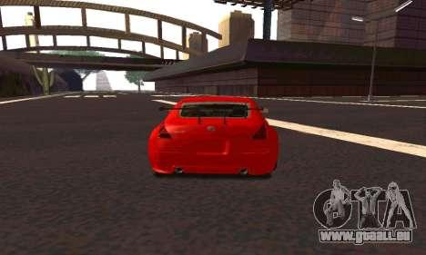 Nissan 350Z Tune für GTA San Andreas rechten Ansicht