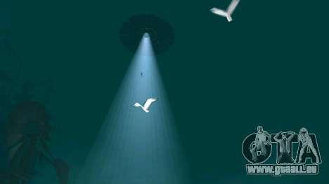 OVNI au-dessus de San Andreas pour GTA San Andreas septième écran