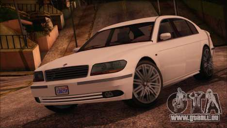 GTA 5 Ubermacht Oracle XS IVF pour GTA San Andreas