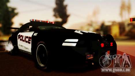 Ford Mustang GT-R Police für GTA San Andreas