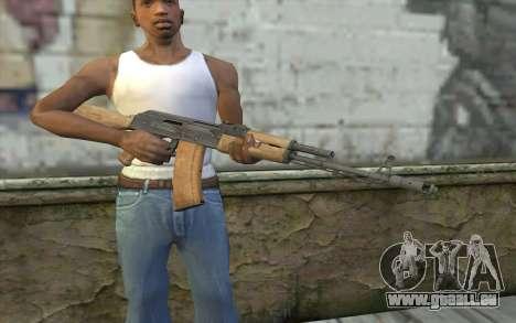 AK-74 Standart pour GTA San Andreas troisième écran