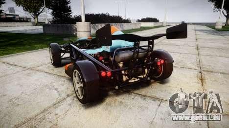 Ariel Atom V8 2010 [RIV] v1.1 RAPA olio pour GTA 4 Vue arrière de la gauche
