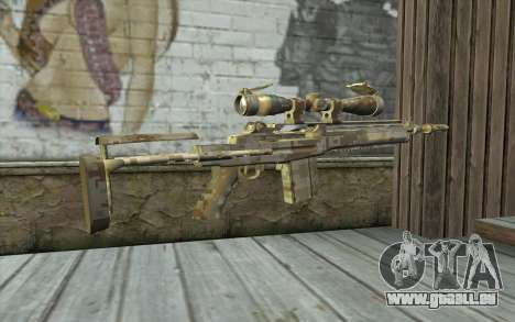 M14 EBR Digidesert pour GTA San Andreas deuxième écran