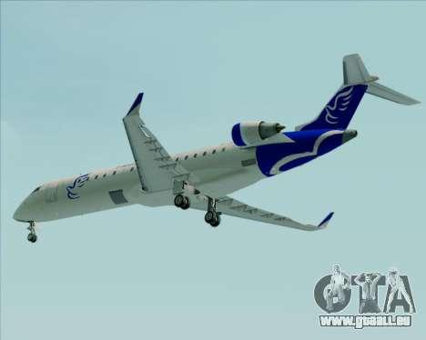 Embraer CRJ-700 China Express Airlines (CEA) pour GTA San Andreas vue de dessous