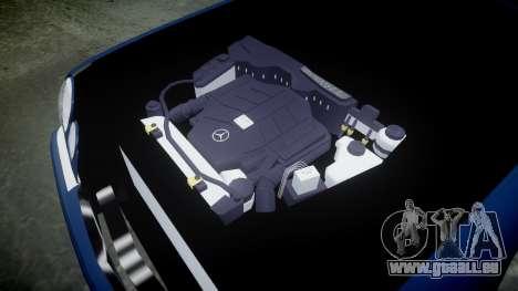 Mercedes-Benz W210 E55 2000 AMG Vossen VVS CVT pour GTA 4 est une vue de l'intérieur