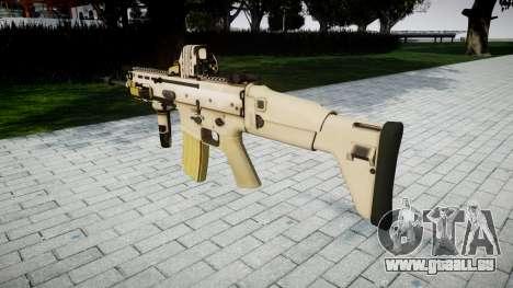 Maschine FN SCAR-L Mk 16 Ziel icon3 für GTA 4 Sekunden Bildschirm